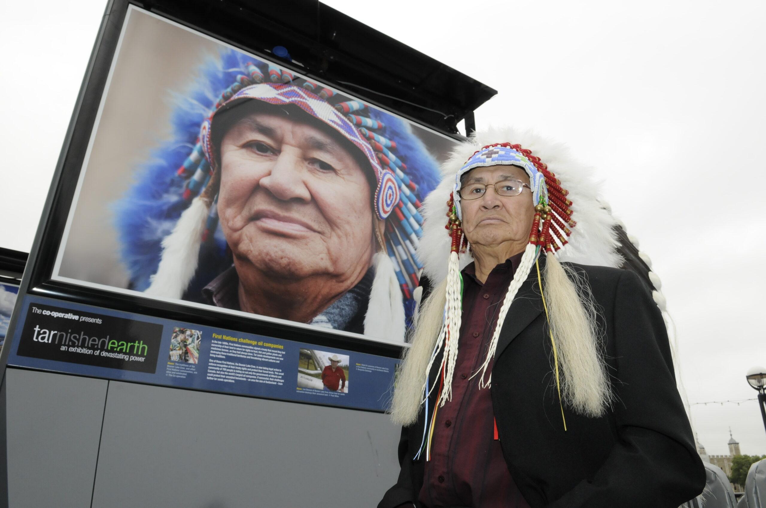 Chief Al Lameman Beaver Lake Cree Nation
