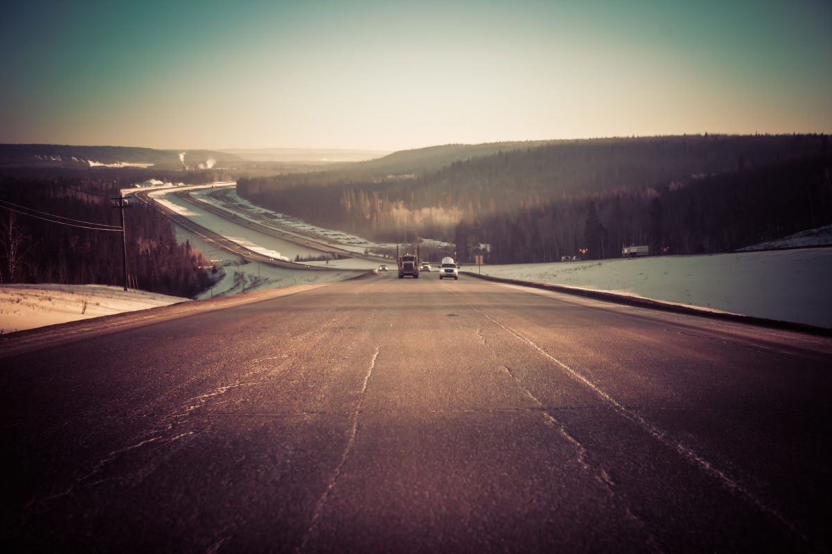 Fort McMurray oilsands Highway 63