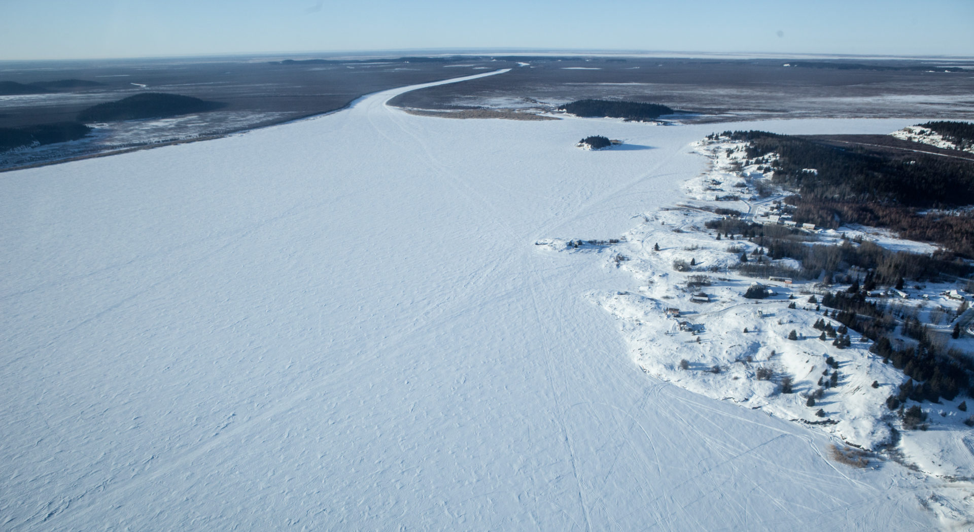 Frozen Lake Athabasca, Oilsands Cancer Story