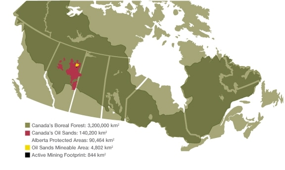 Oil Sands Map It's Time for an Adult Conversation About Canada's Oilsands | The