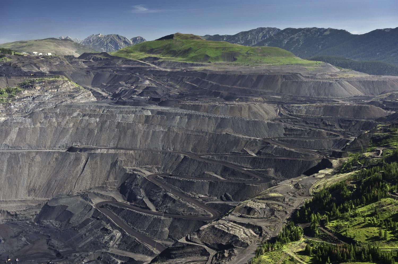 Elk Valley Coal mines Garth Lenz