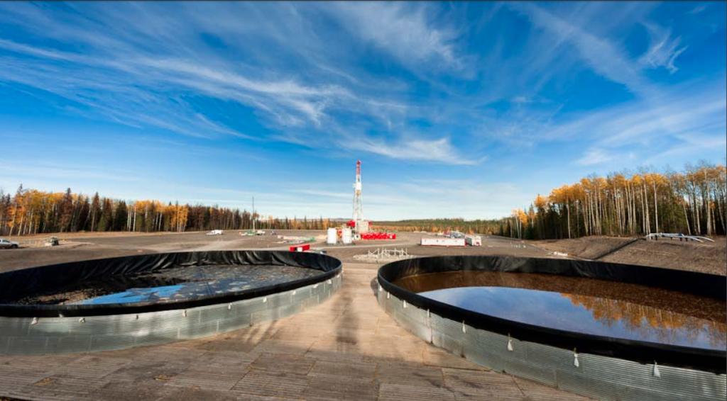 Fracking wastewater.