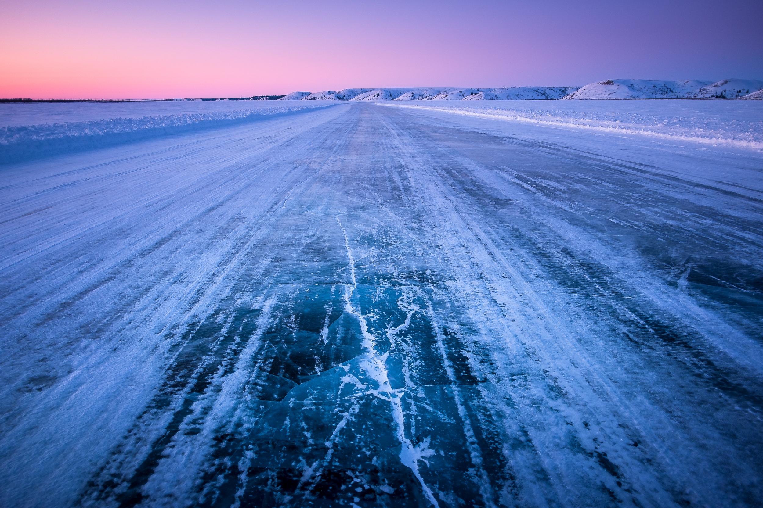 Ice Road Matt Jacques