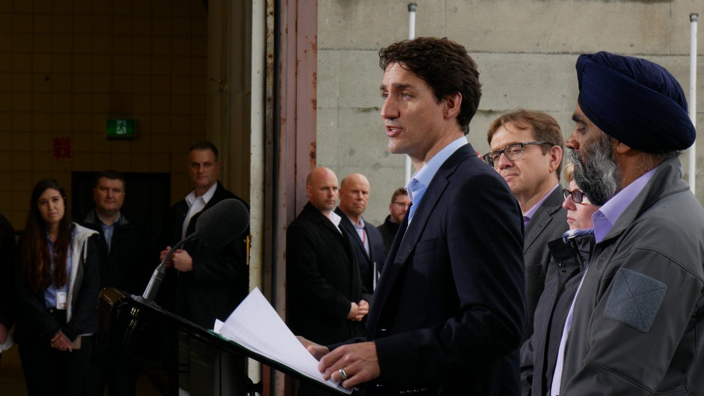 Justin Trudeau Kinder Morgan Trans Mountain pipeline