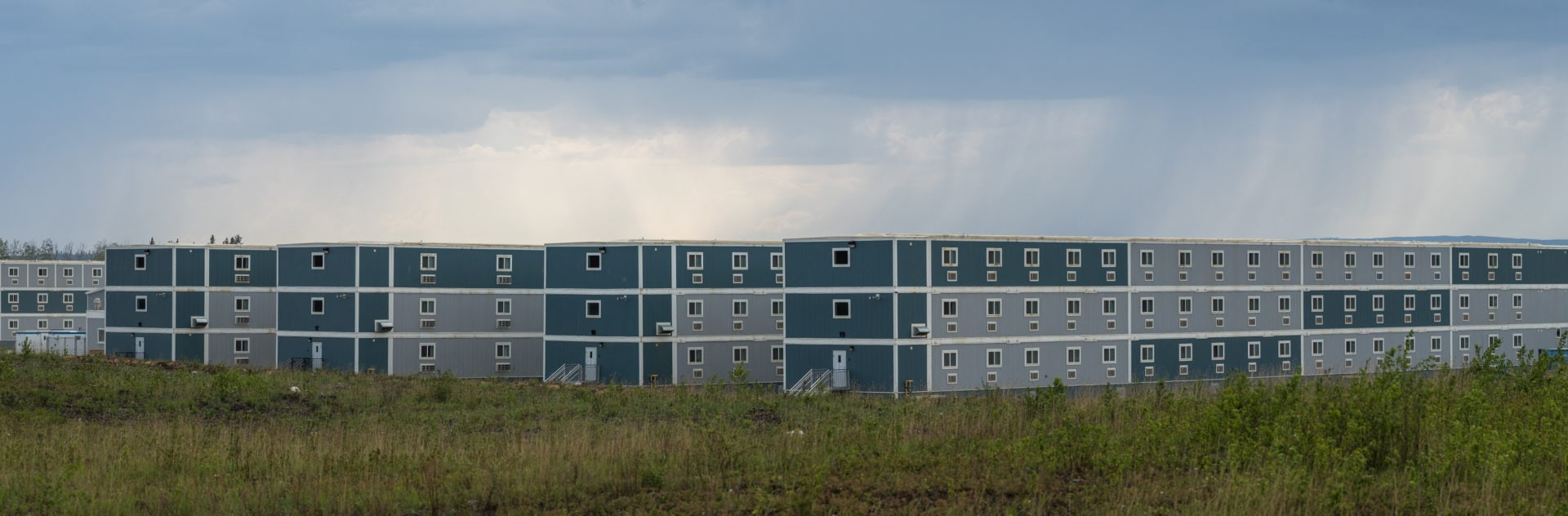 Worker housing in Alberta's oilsands.