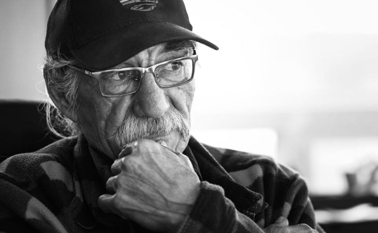 Roy Ladouceur, an Athabasca Chipewyan First Nation elder.
