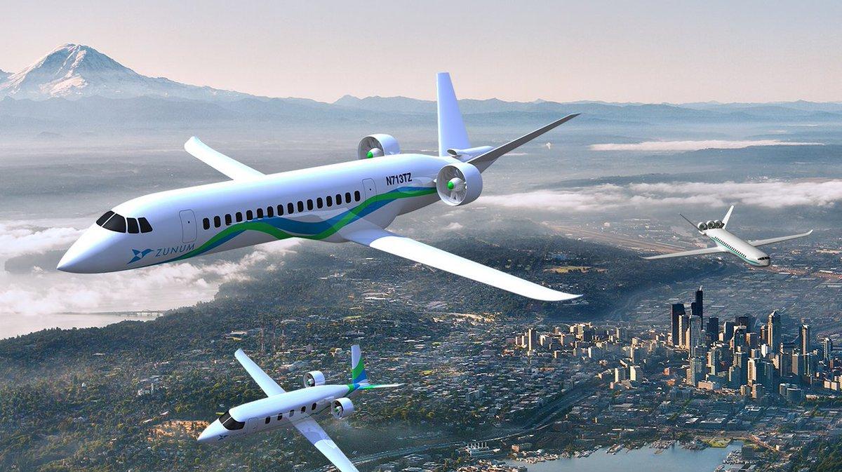 zunum electric airplane