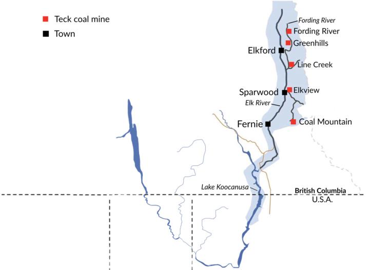 Teck Coal Mines