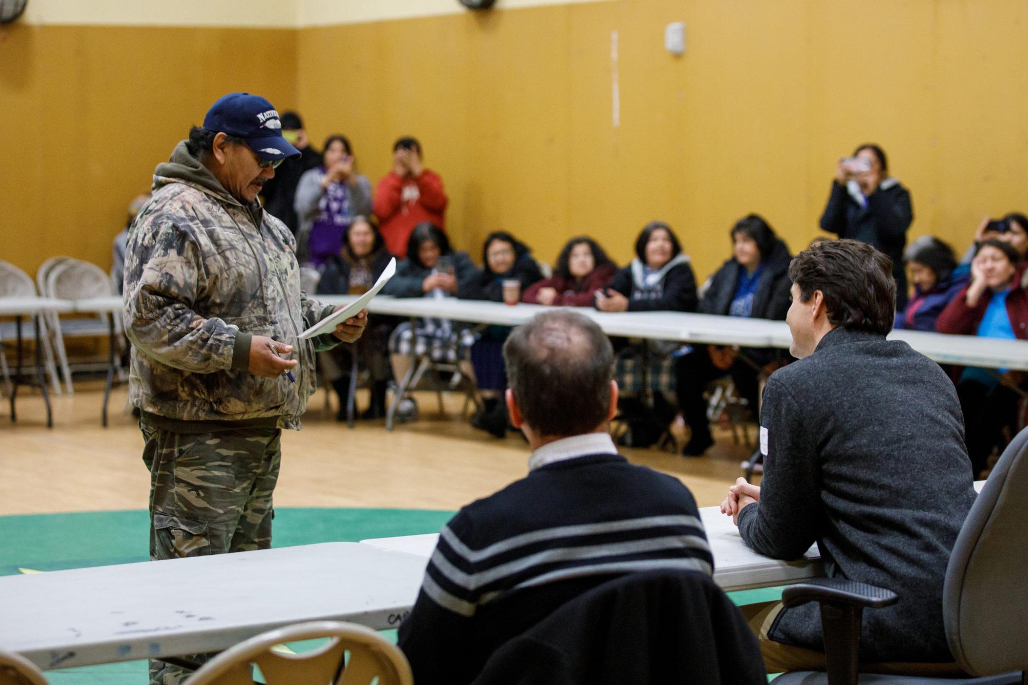 Justin Trudeau Indigenous consultation