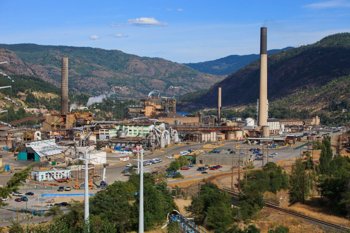 Teck Resources Trail B.C. Smelter