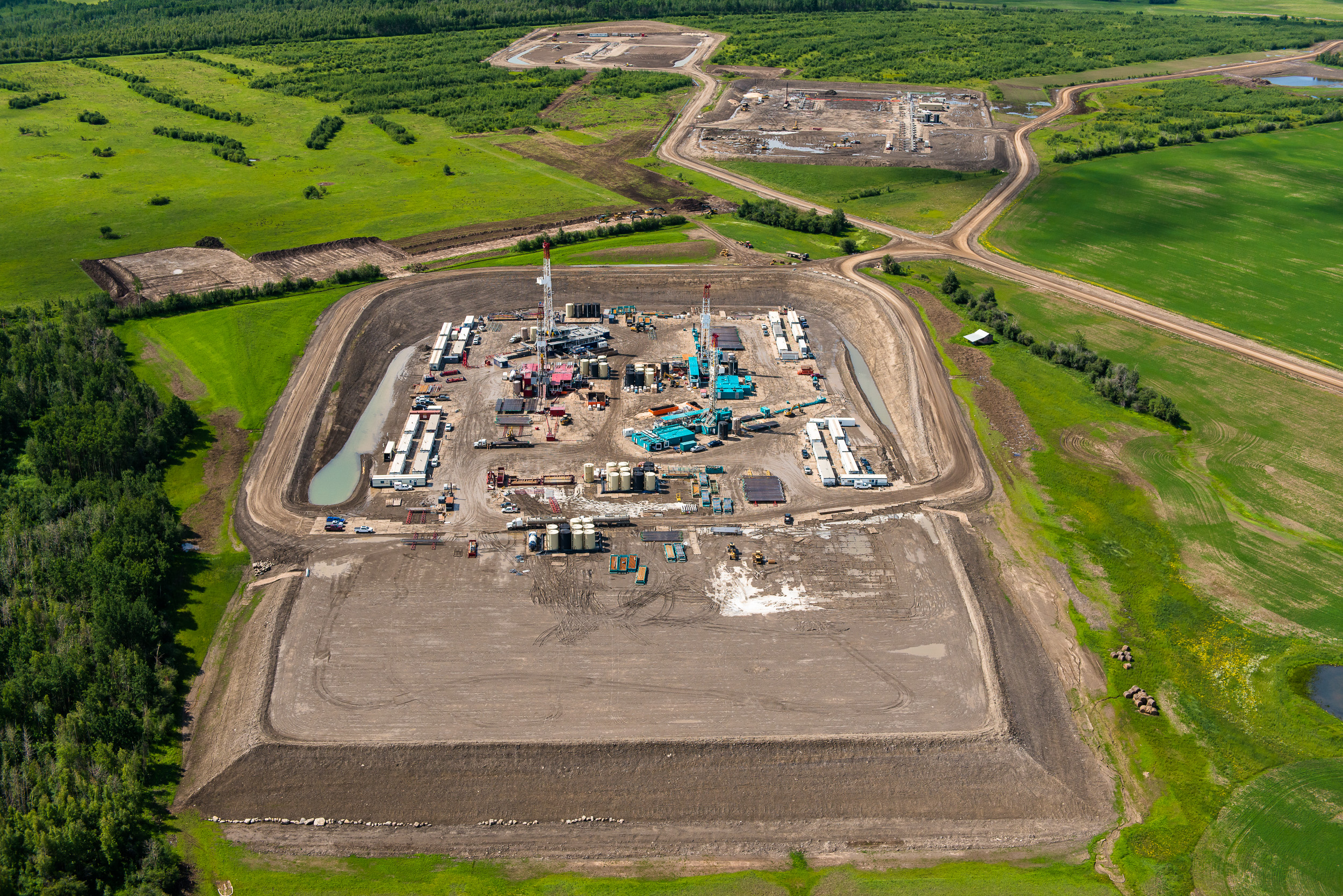 Oil and Gas Development. Farmington Area.