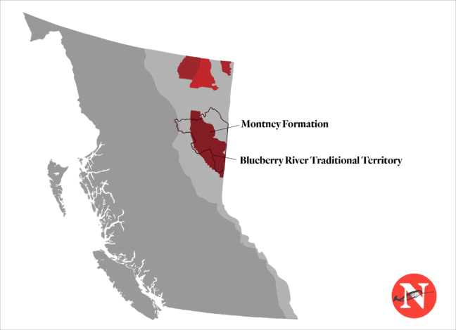 Blueberry River Traditional Territory