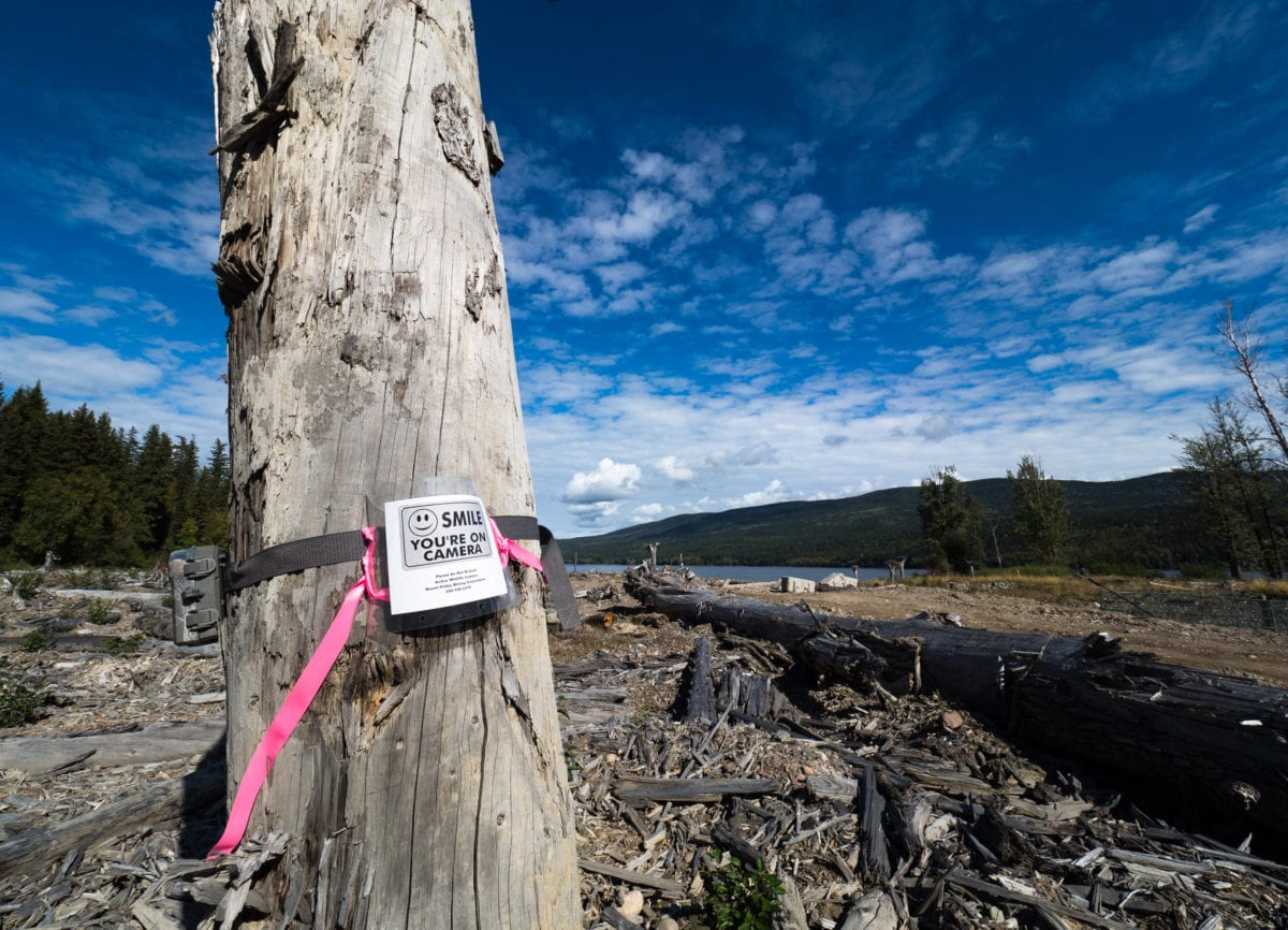 Mount Polley security camera