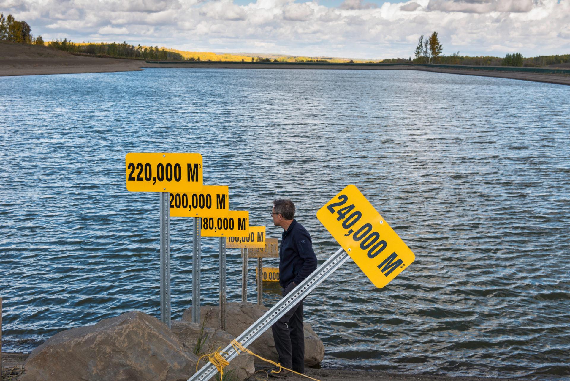 Encana dam and reservoir