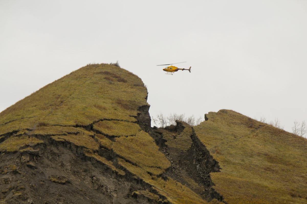 Old Fort Landslide Alaska Highway News