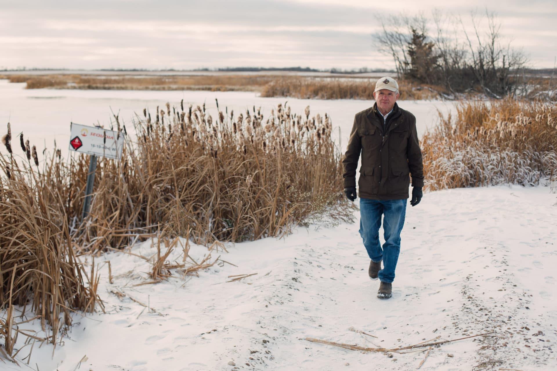 Mike Smith in Wainwright, Alberta on Monday, November 5, 2018. Amber Bracken