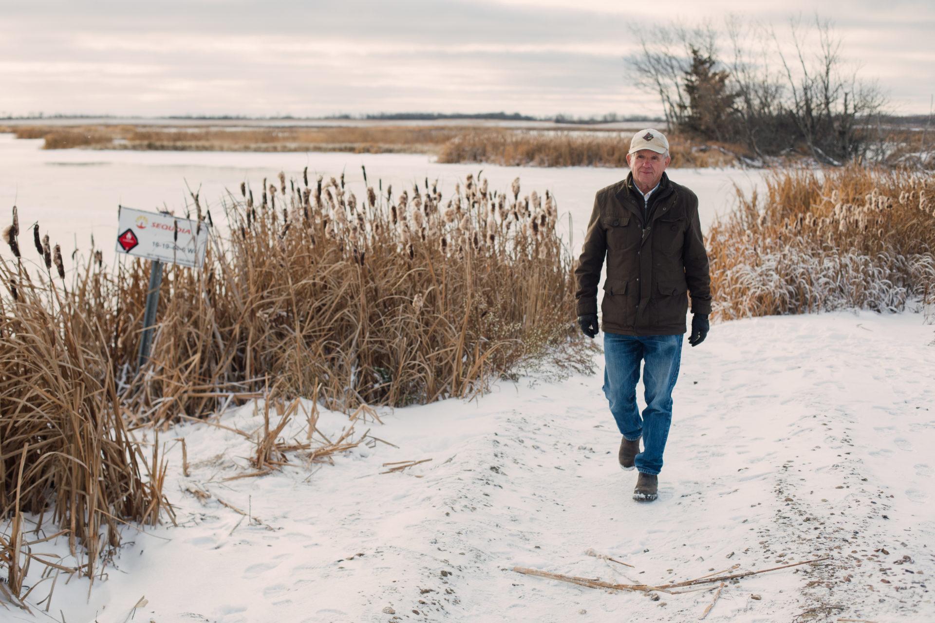 Mike Smith in Wetaskiwin, Alberta on Monday, November 5, 2018. Amber Bracken