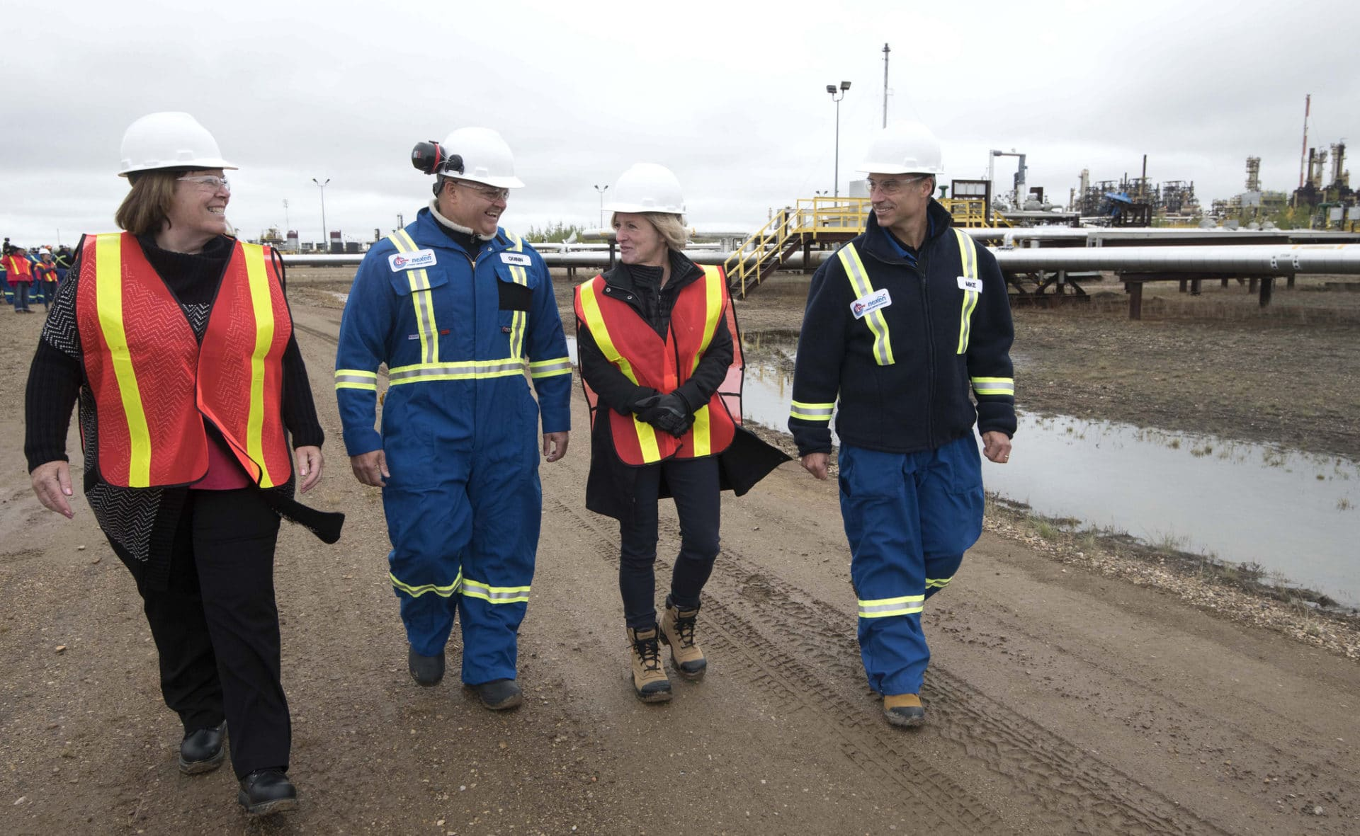 Rachel Notley oilsands Long Lake SAGD