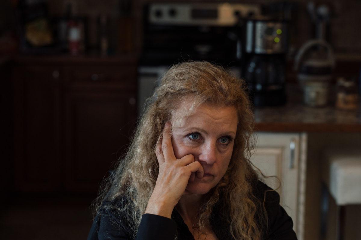 Brenda McKenzie in Clearwater, Alta.