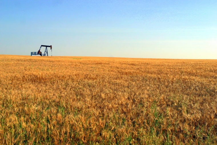 Oil and gas wells Alberta