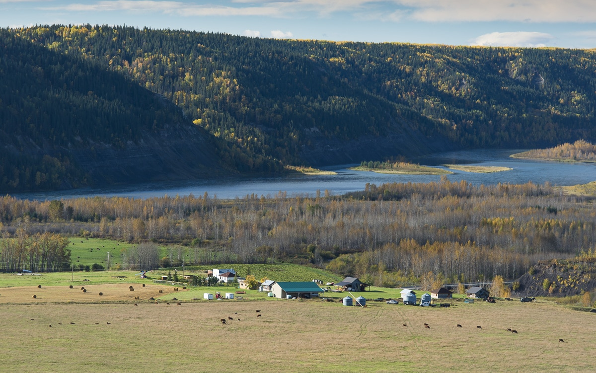 Peace River Valley