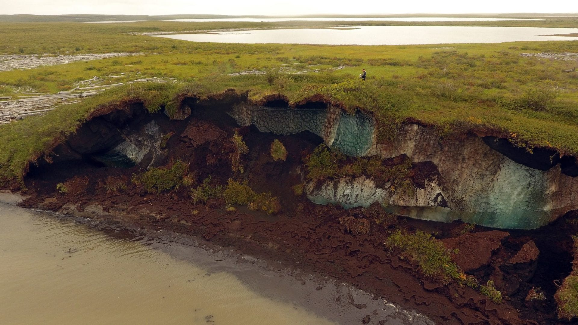 Coastal Erosion Permafrost Roger McLeod NRCan