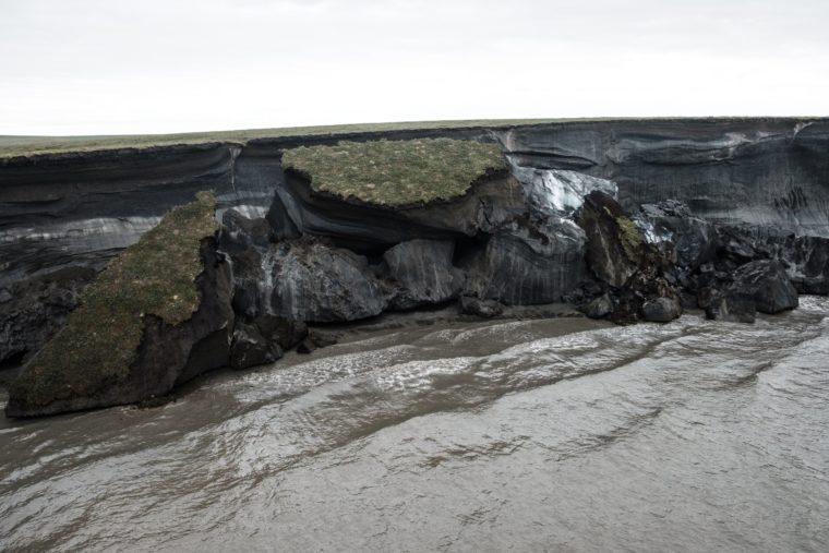 Pelly Island coastal erosion