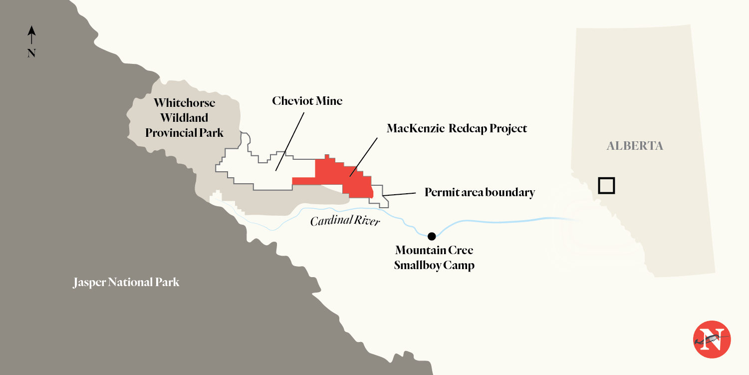 MacKenzie Redcap Project map