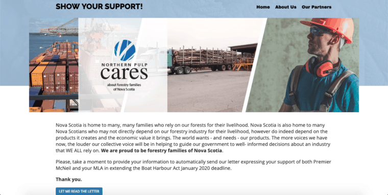 Northern Pulp cares