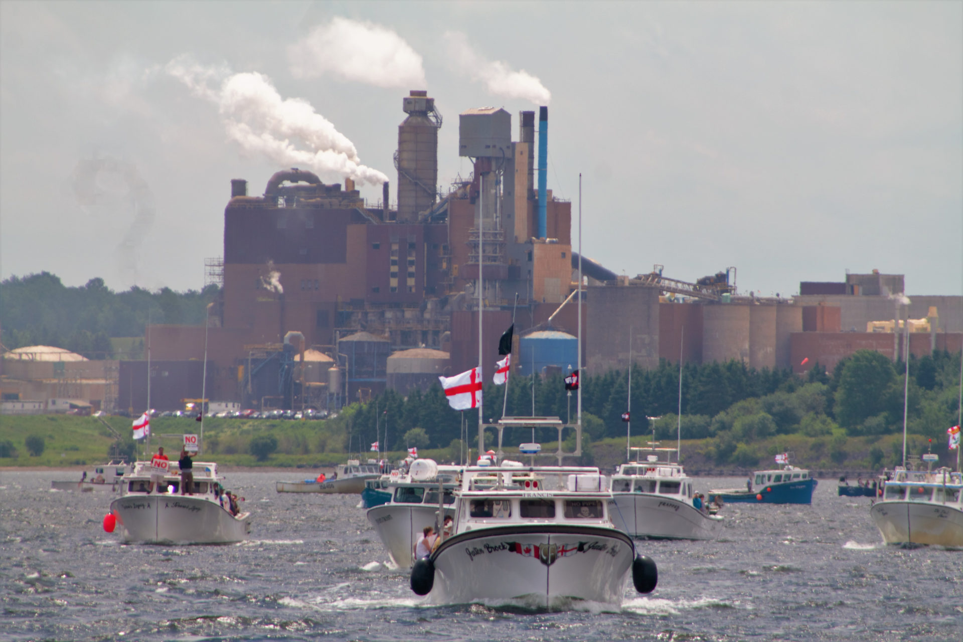 Northern Pulp No Pipe Rally