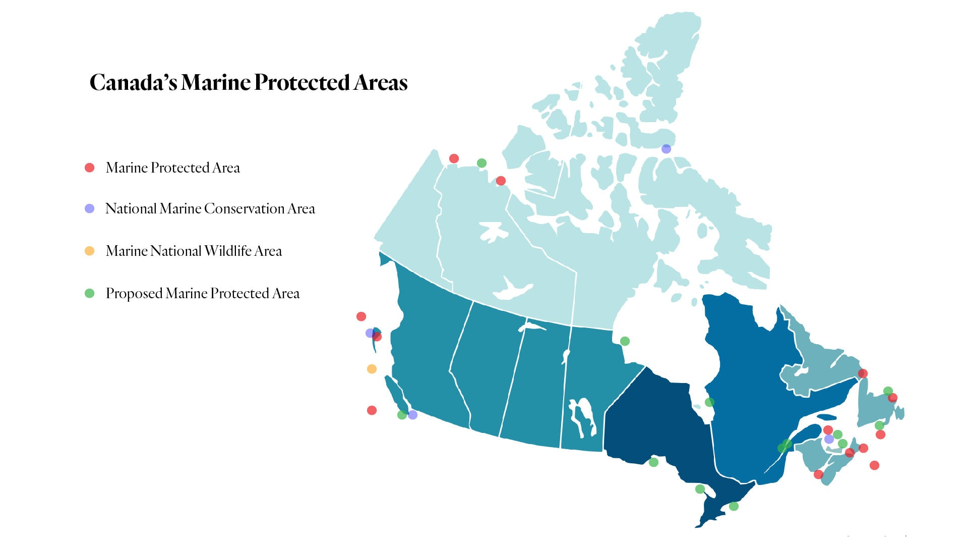 Canada marine protected areas
