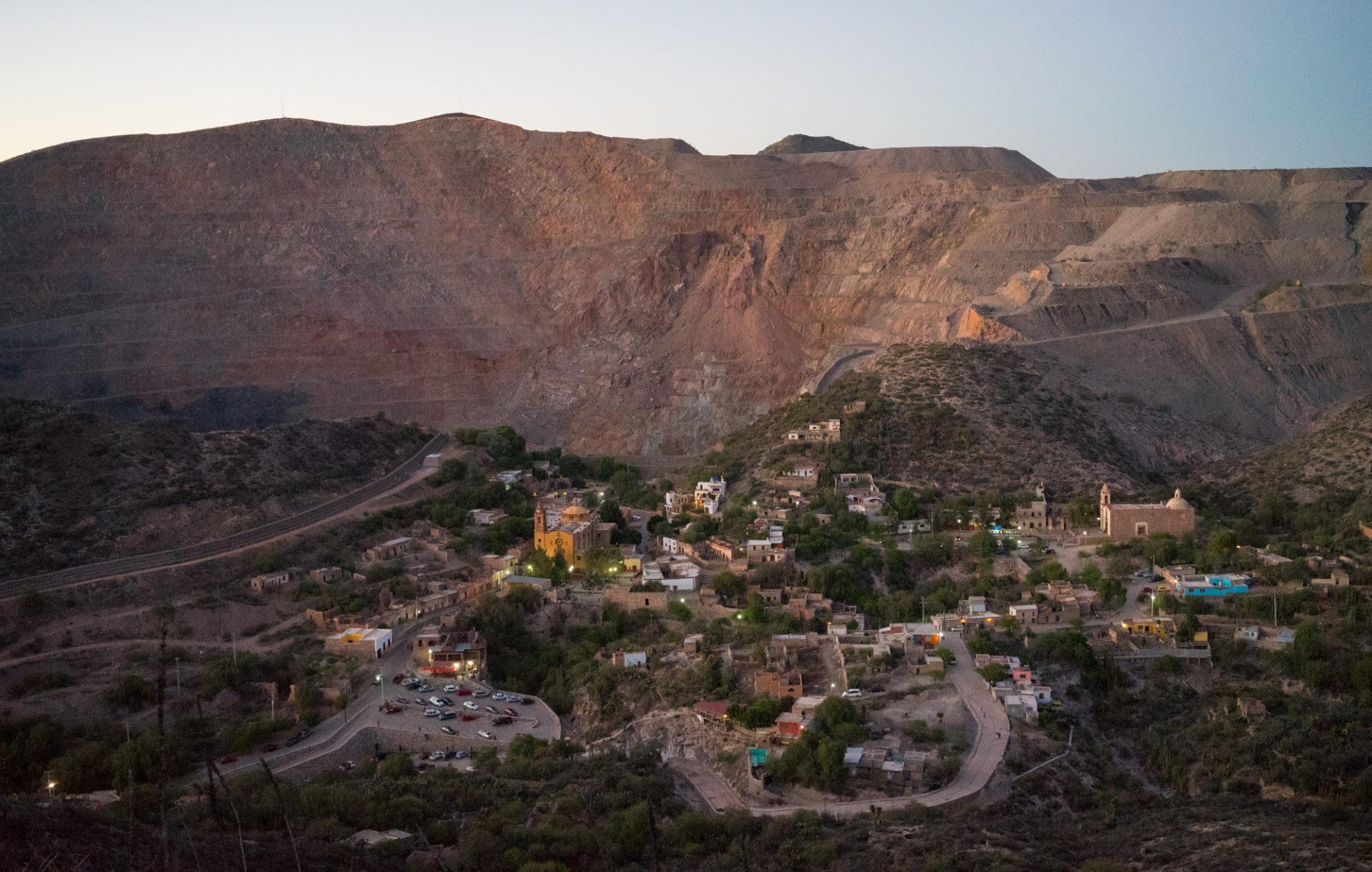 Minera San Xavier and Cerro de San Pedro