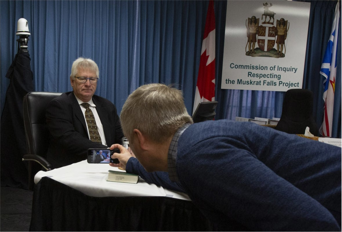 Normand Béchard Muskrat Falls Public Inquiry
