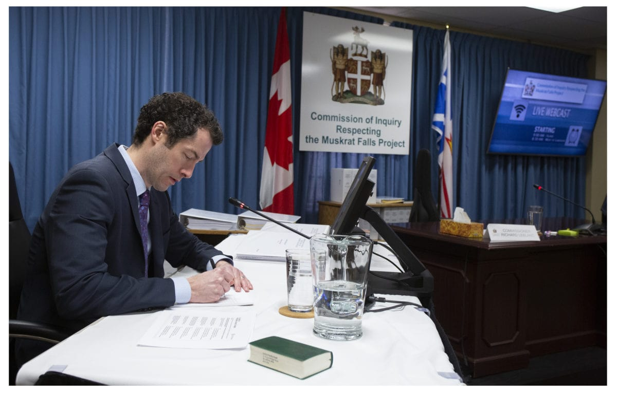 James Meaney Muskrat Falls Public Inquiry