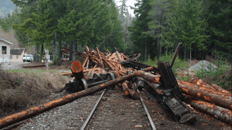 Woss Derailment Western Forest Products