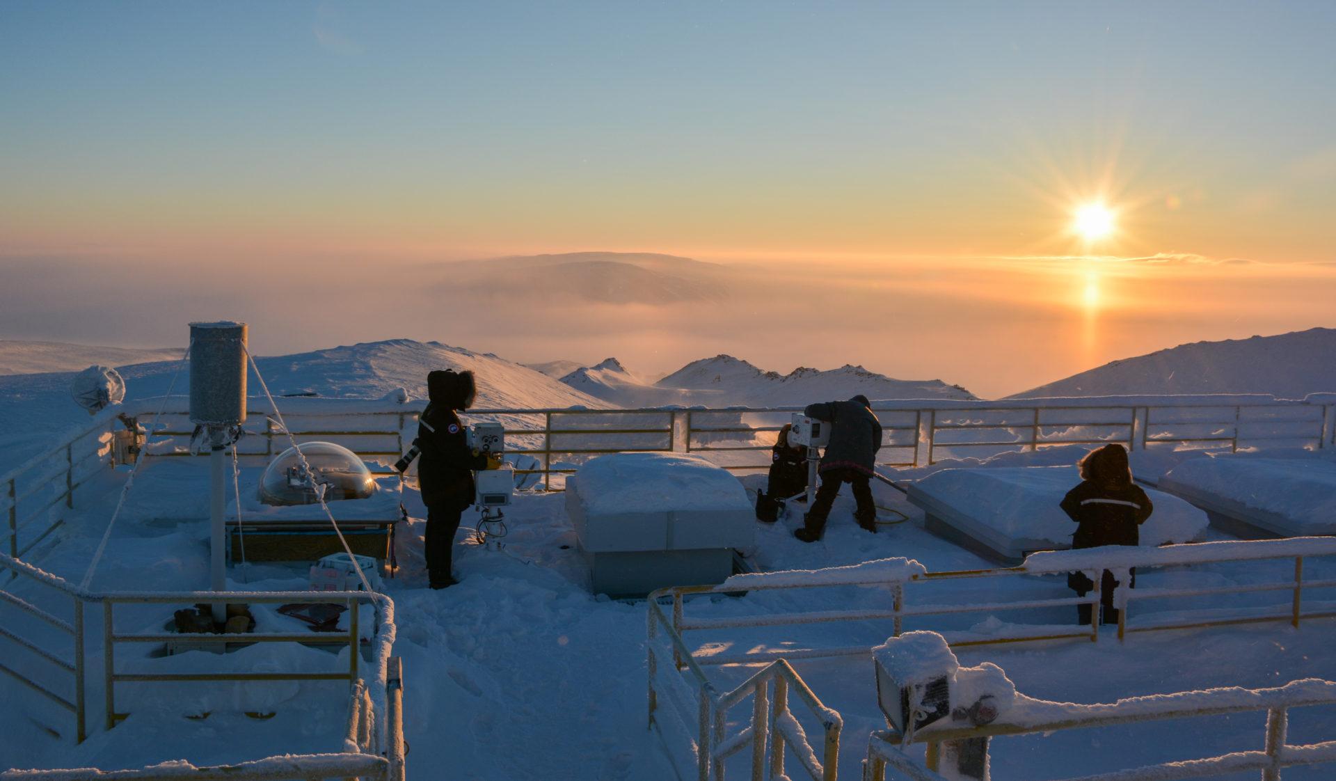 Polar Environment Atmospheric Research Laboratory ridge lab