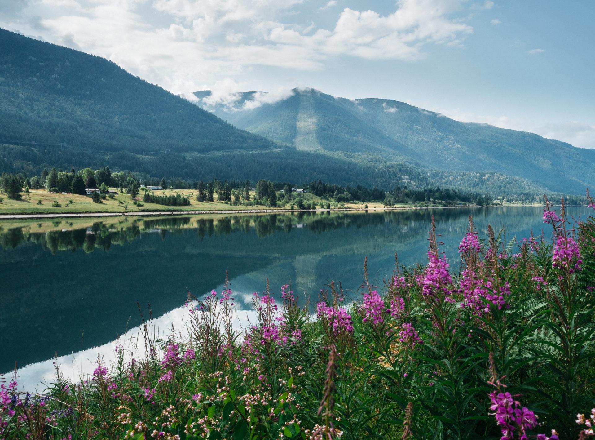 Glade Watershed Kootenay River Louis Bockner
