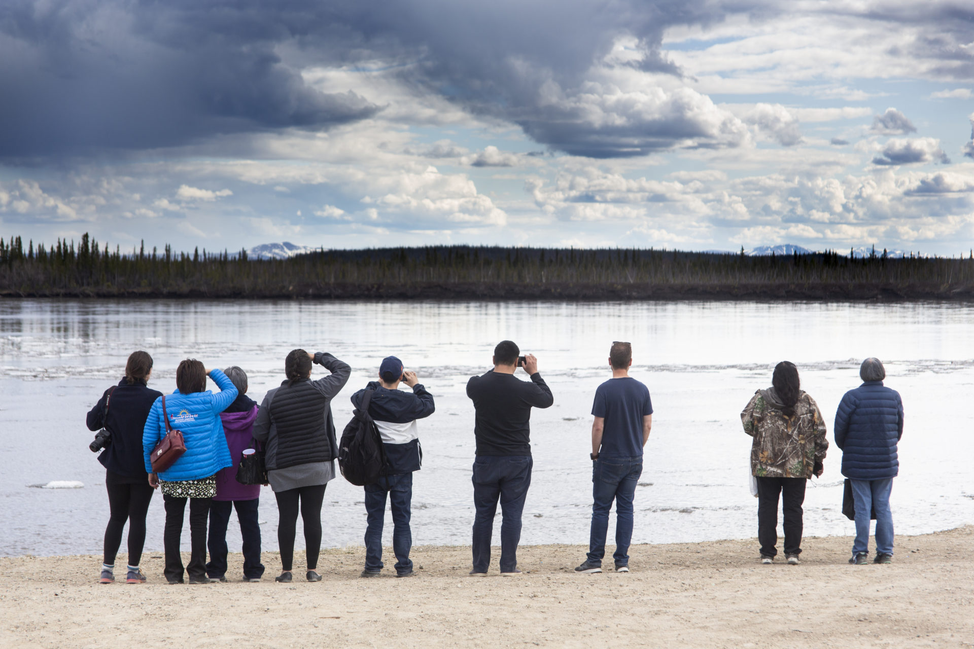 Malkolm Boothroyd Caribou Days Porcupine River