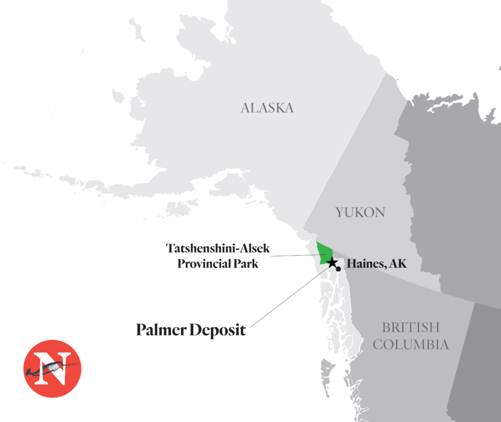 The Palmer deposit in southeast Alaska