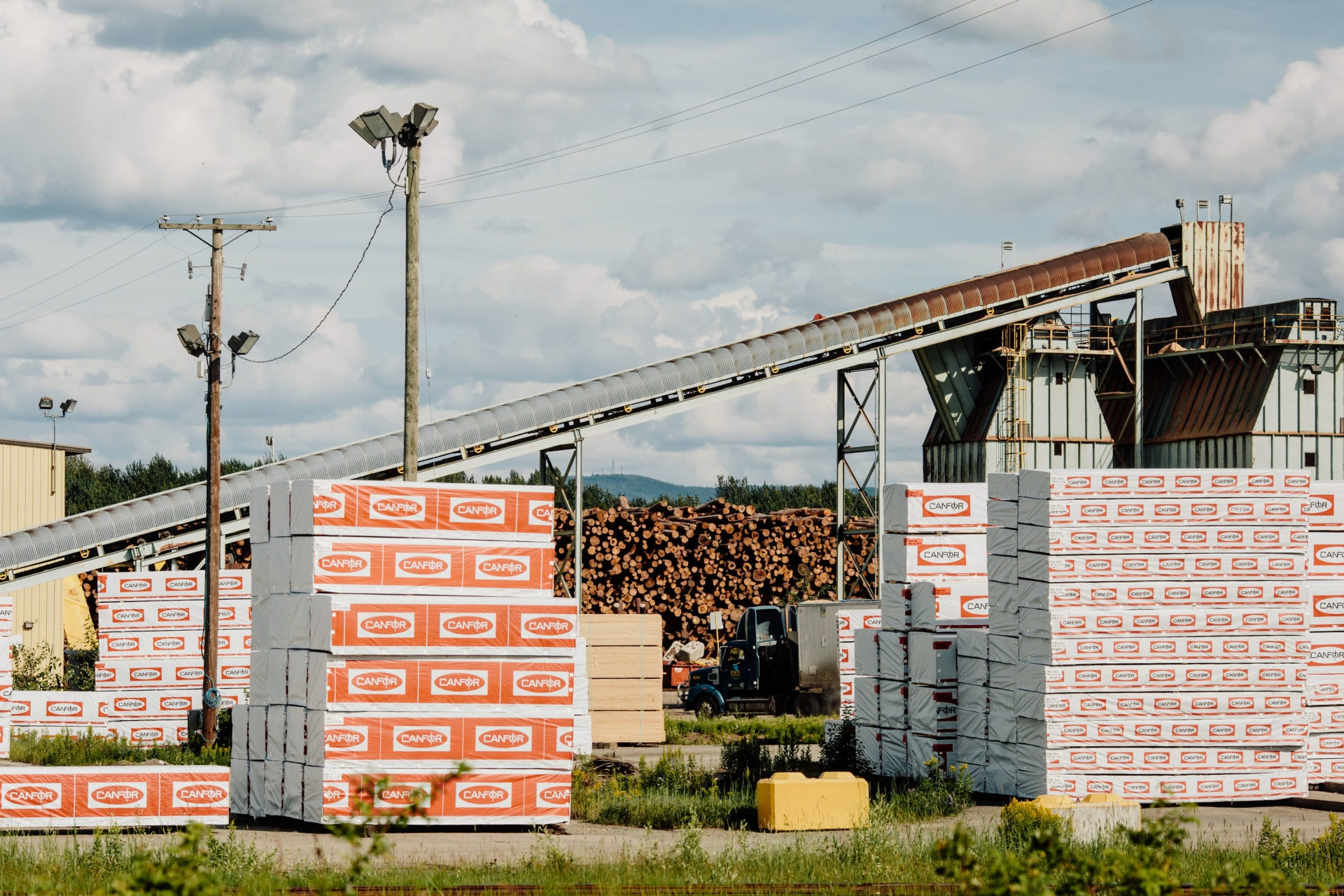Canfor sawmill