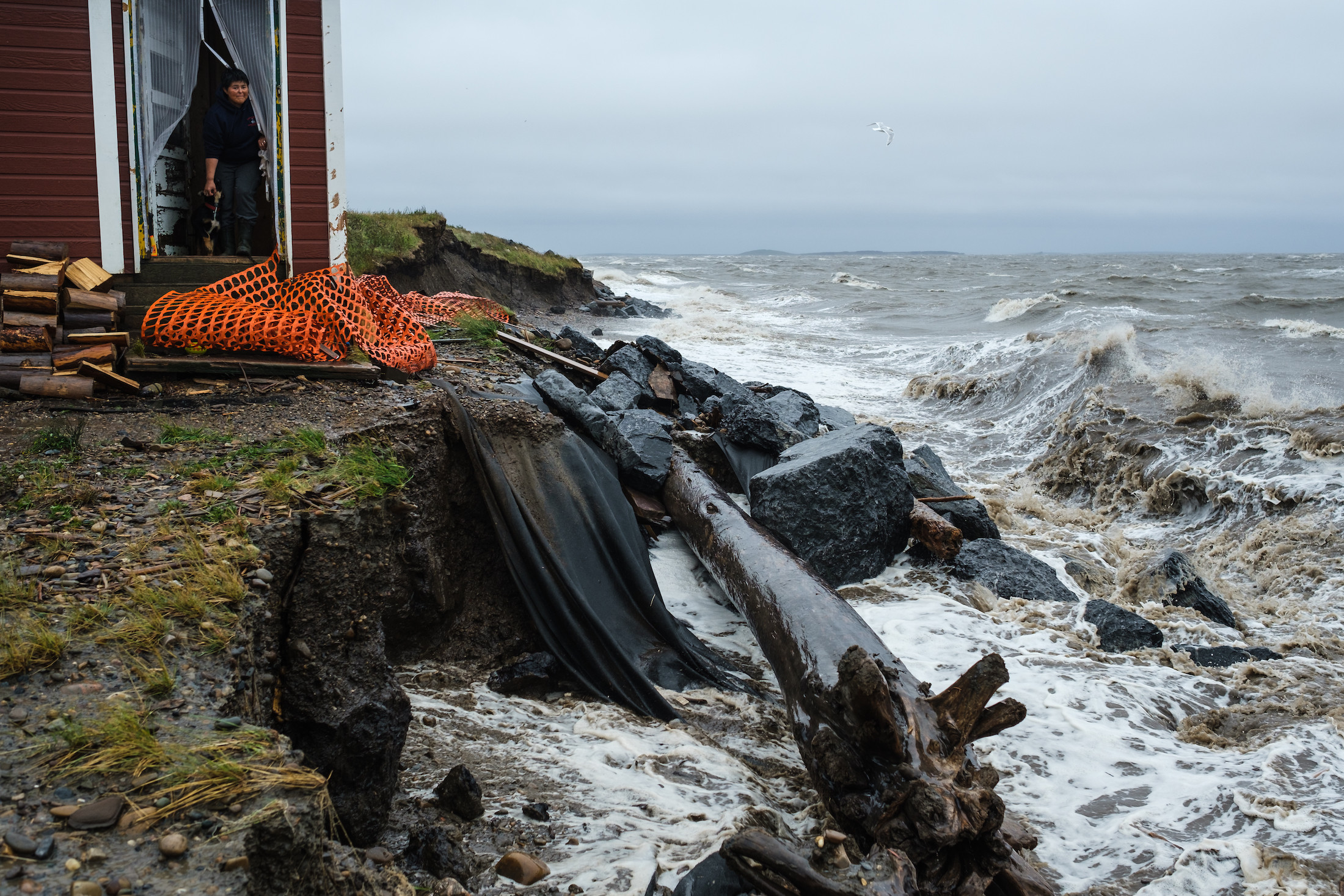 Climate Tuktoyaktuk The Point Coastal Erosion Weronika Murray