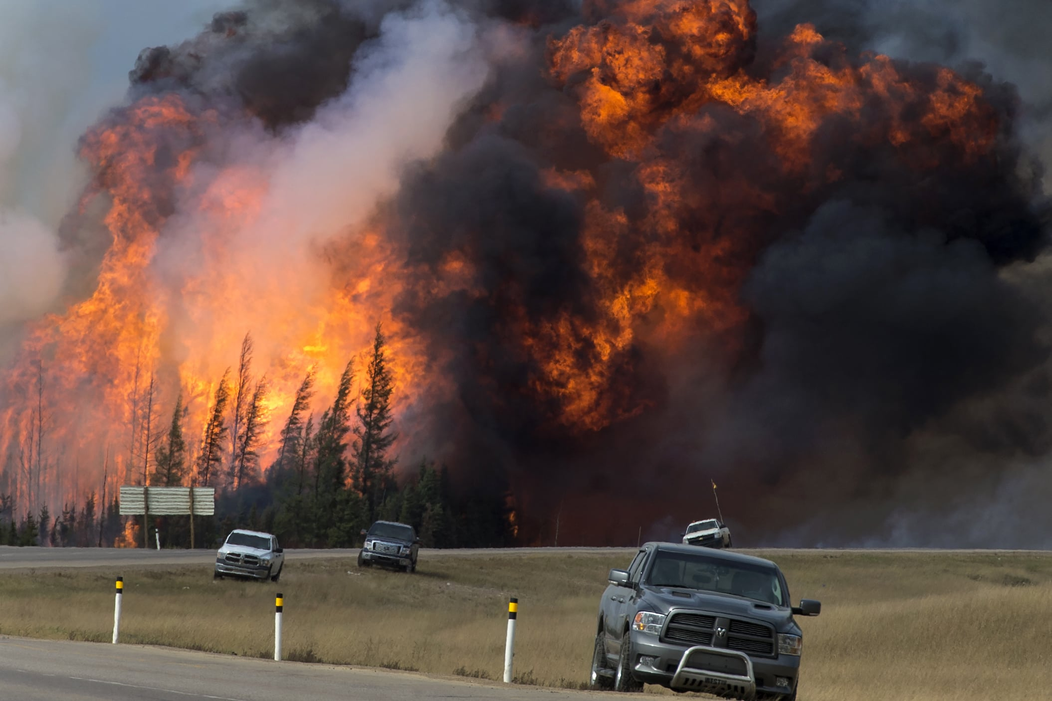 Fort McMurray wildfire climate change