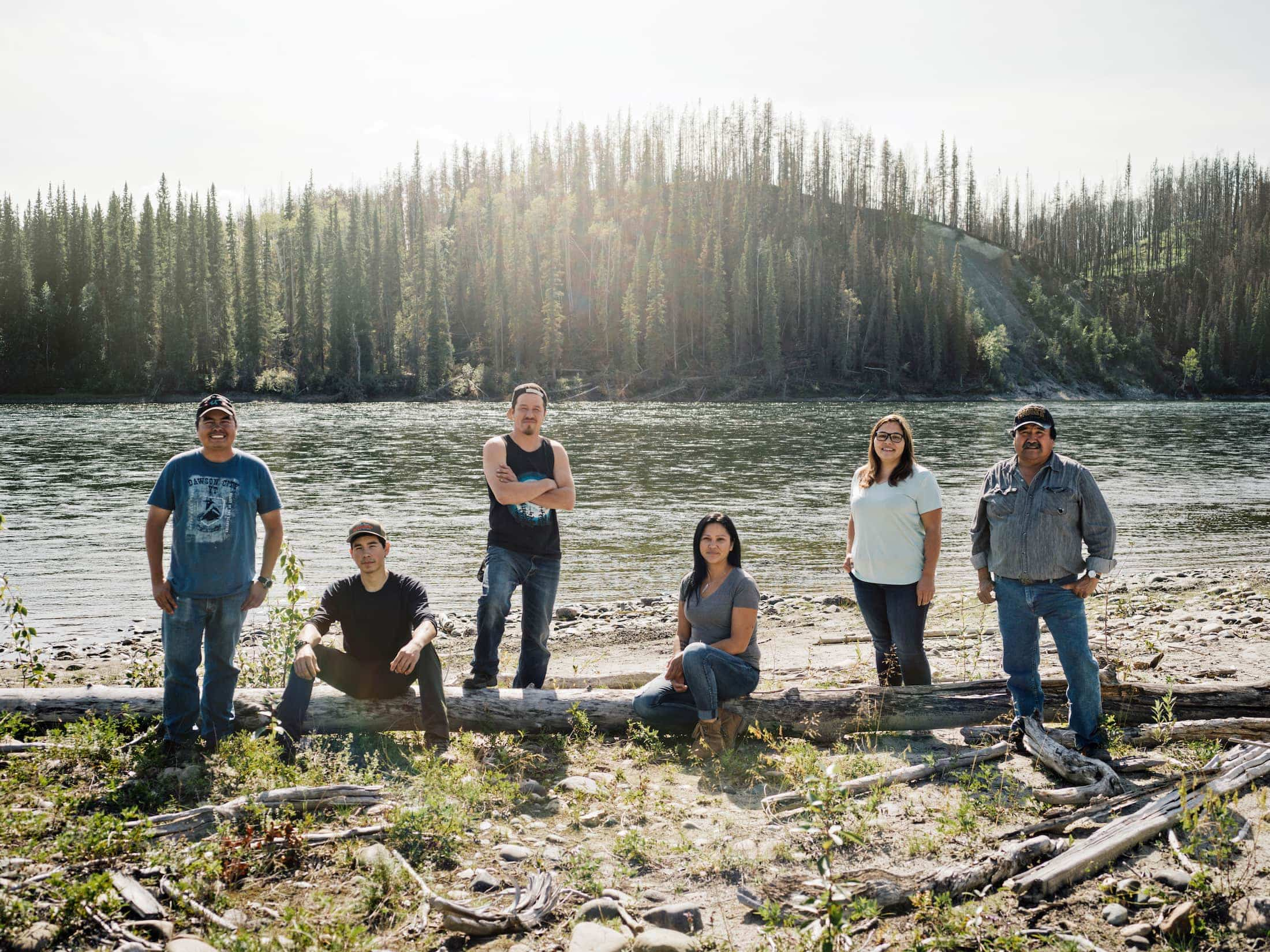 Kaska land guardians Taylor Roades