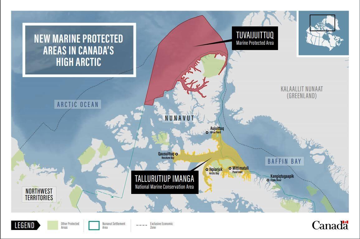 Tallurutiup Imanga Marine Conservation Area Map