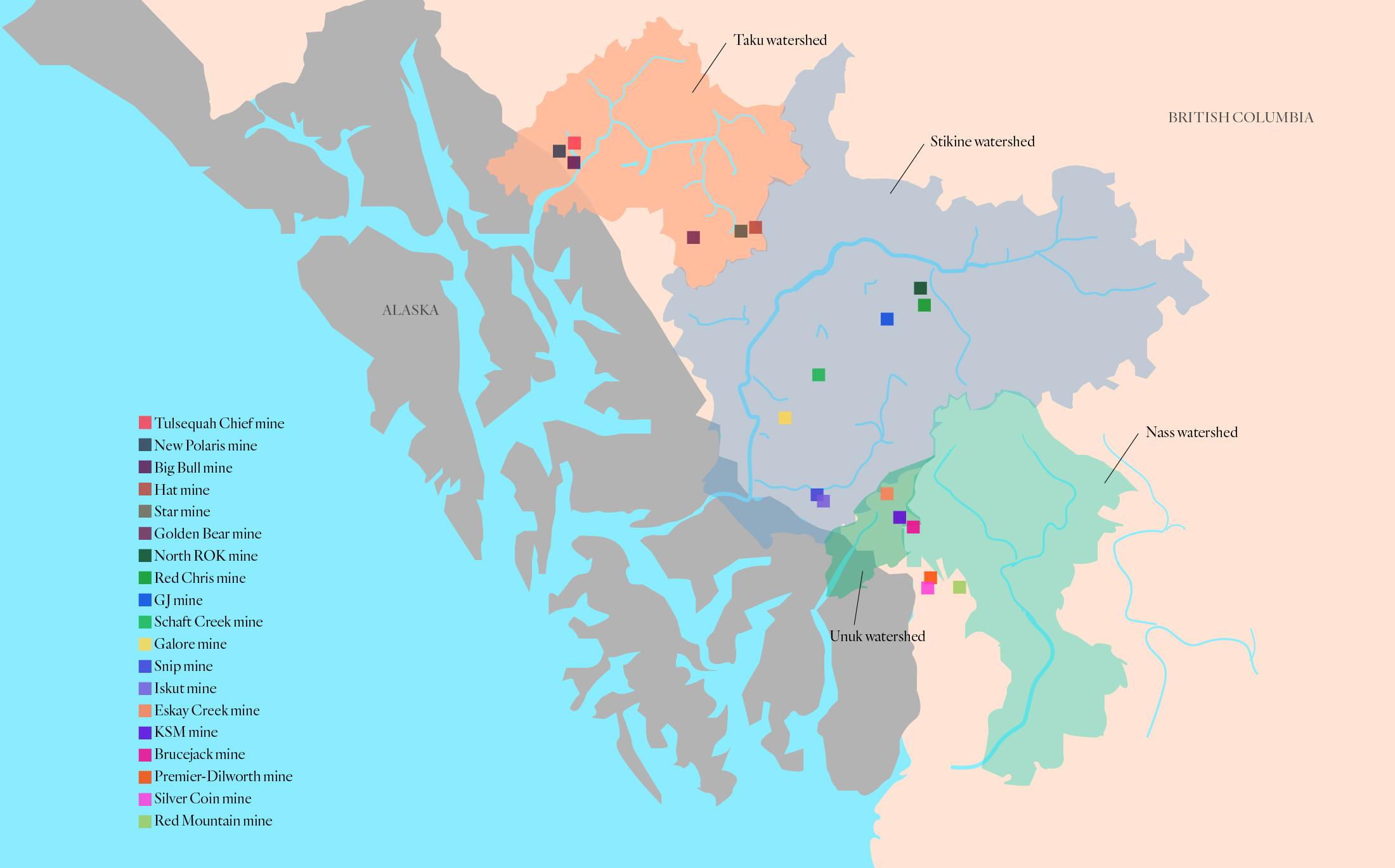 B.C. Alaska transboundary mines The Narwhal