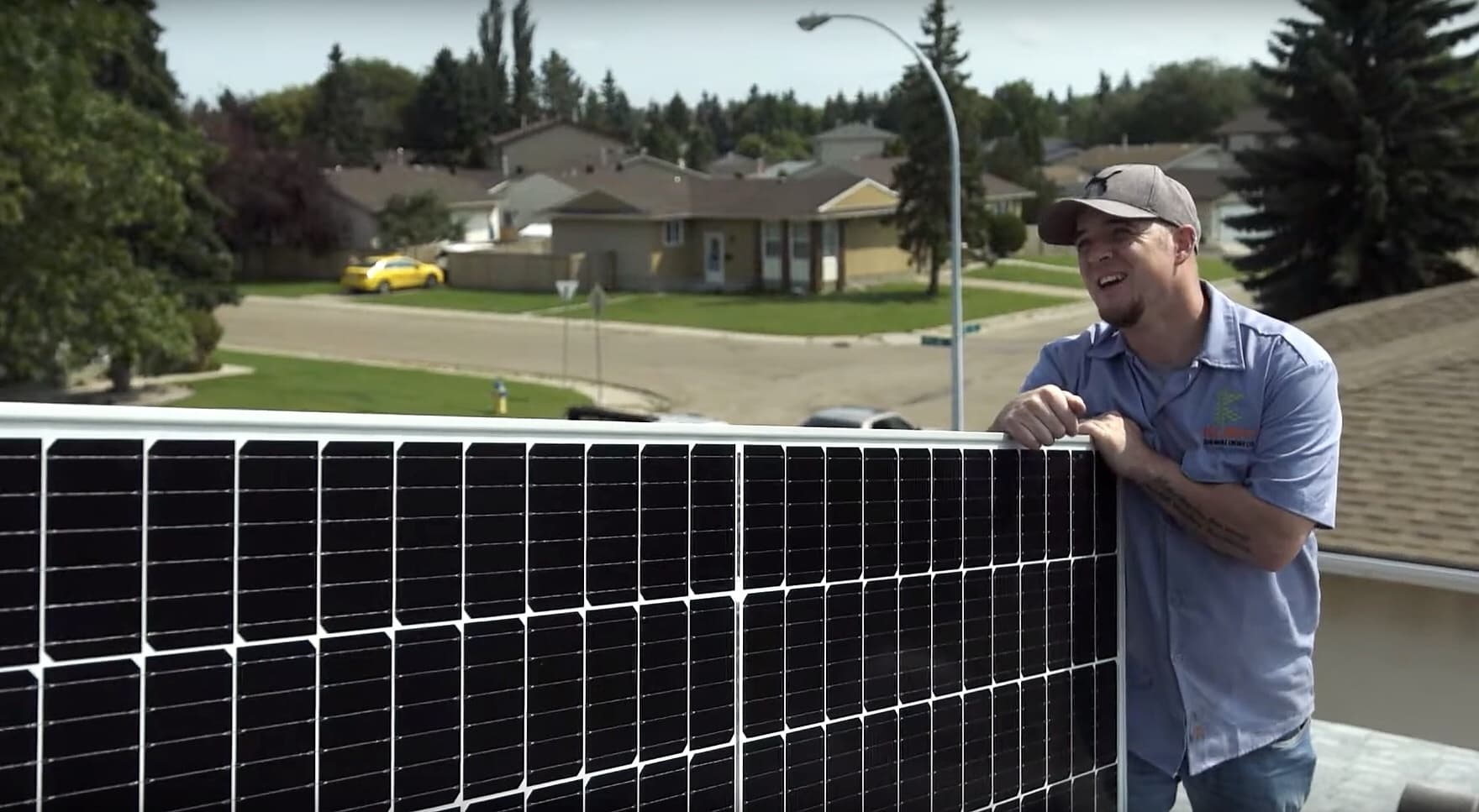Dustin Taylor Kube Renewable Energy Alberta solar