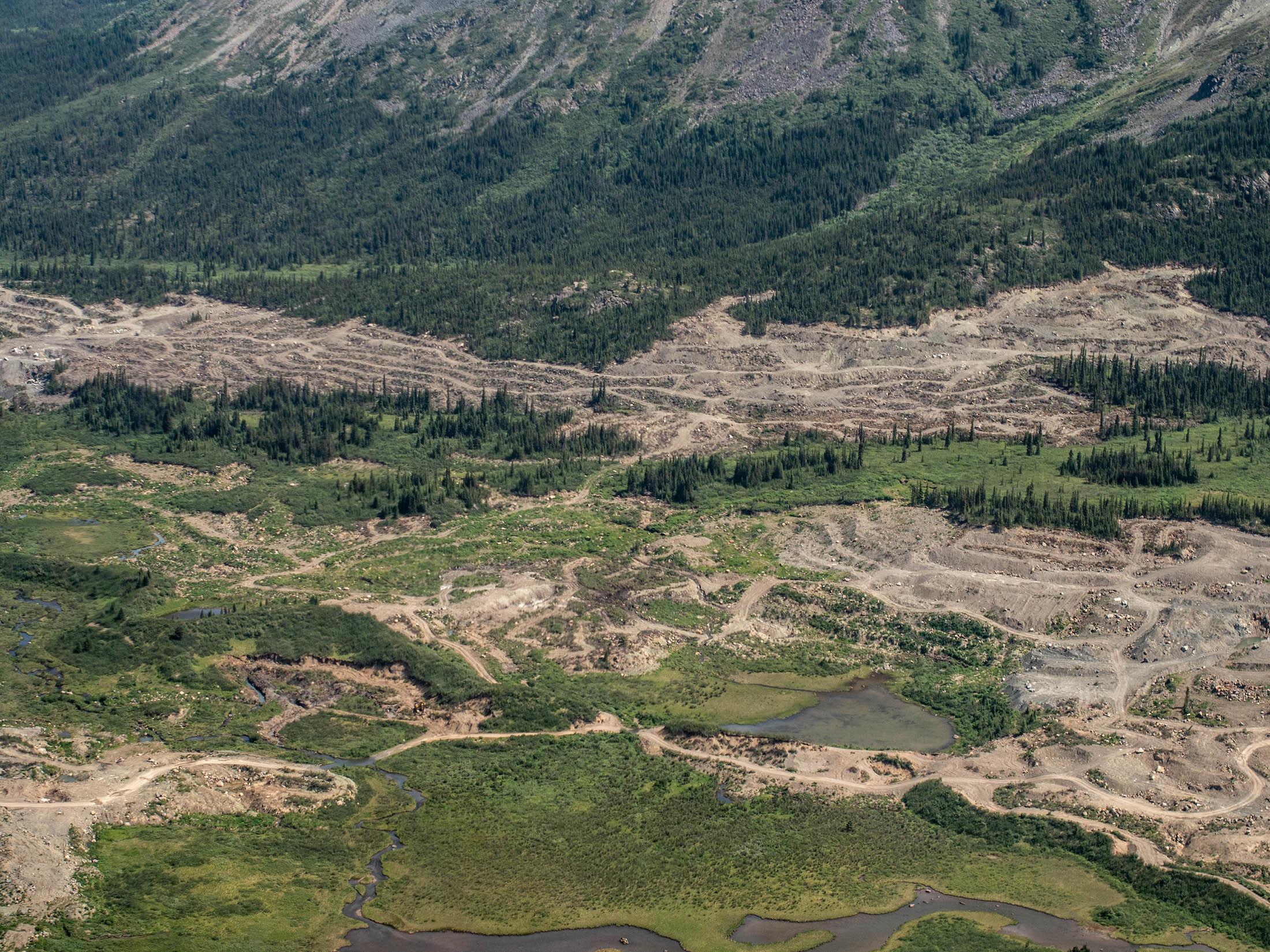 Jade placer mining Tahltan territory