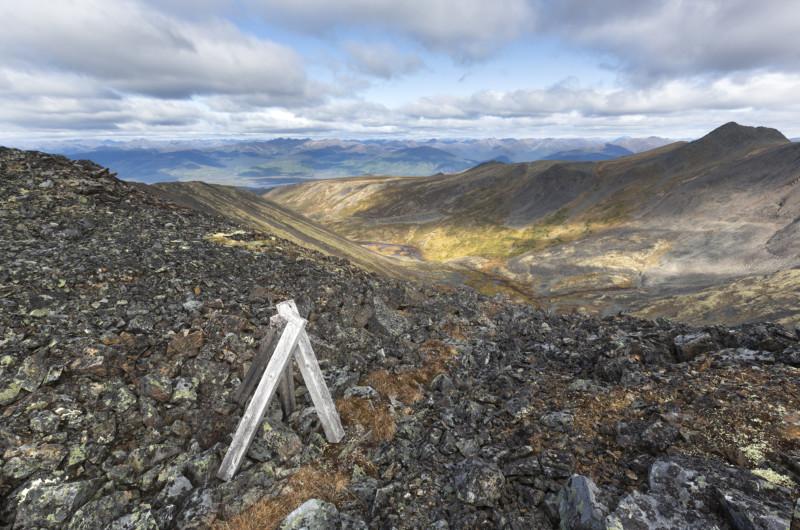 Staked mining claim Rambler Creek Yukon