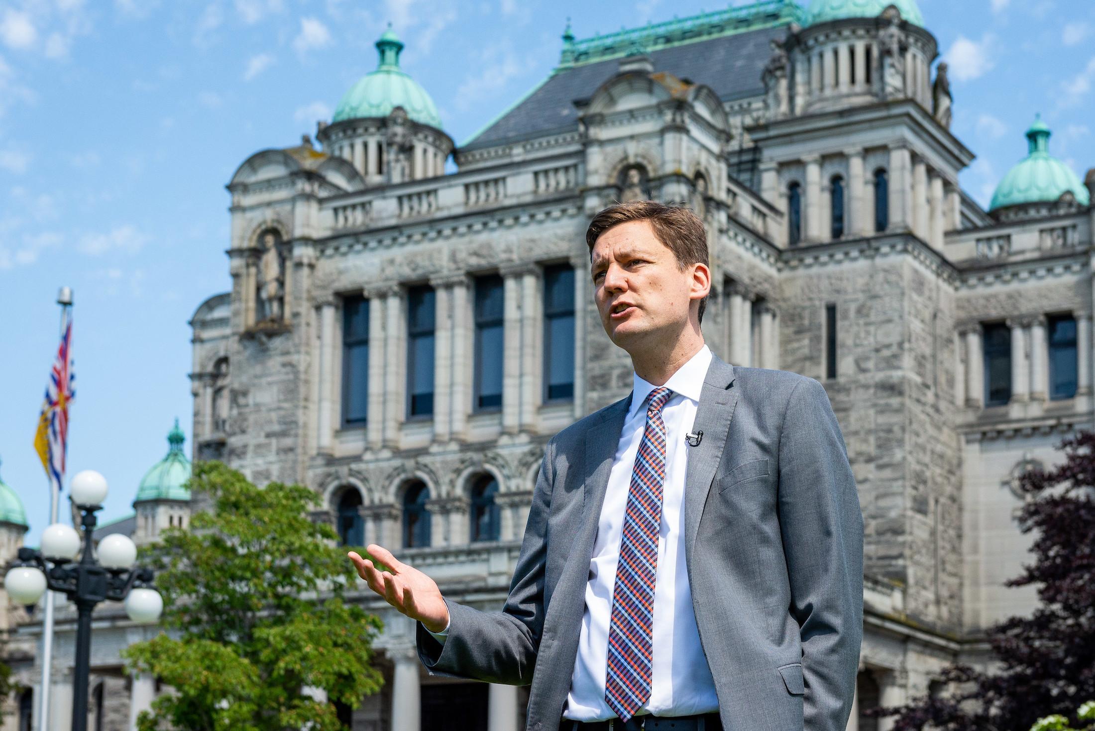 David Eby BC Lobbying