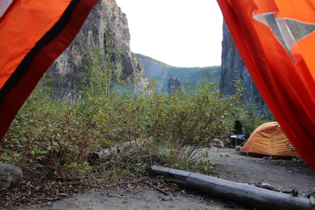 Nahanni National Park Reserve camping